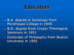 Image result for King entered Crozer Theological Seminary in Pennsylvania,