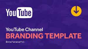 Youtube Template Psd Channel Branding Template For Youtube 2017 Free Psd