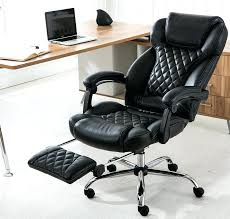 office chair with footrest executive adjustable reclining incremental reclining office chair e14
