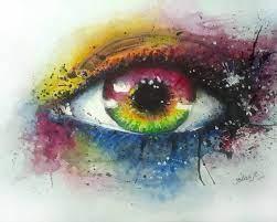 Eye Watercolor Painting Art Wallpaper ...