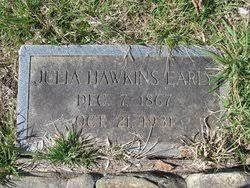 Julia Elvira Hawkins Early (1867-1931) - Find A Grave Memorial