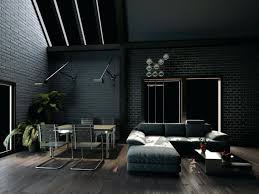 full image for dark living room with grey walls and sofa on wood floorgrey hardwood floors