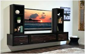 wall mount entertainment unit cabinet mounted furniture for com elegant designing hung melbourne full size