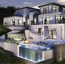 Amazing Los Angeles Hollywood Hills Mansion With Infinity Edge - Bill gates house pics interior