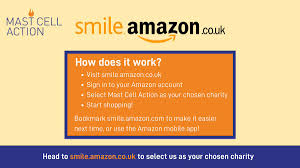 Log into how do i to amazon smile on the app in a single click. Mastcellaction On Twitter Do You Shop On Amazon We Receive A Donation Every Time You Shop If You Sign Up For Amazon Smile And Select Us As Your Chosen Charity Sign Up