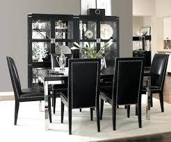 black dining set black dining room set home decor black dining set with bench