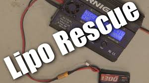 How to recharge a fully flat lipo (lithium polymer) <b>battery</b> - YouTube