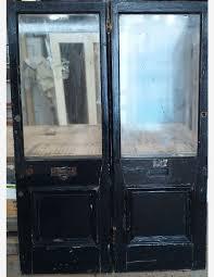 half glazed vestibule or front porch doors