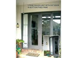 door for sliding glass window cat