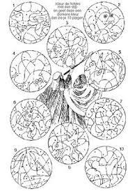 Mozes En De Brandende Braamstruik Kleurplaat Geheimschrift Mozes