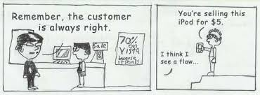 the customer is always right except when they aren t michelle  the customer is always right except when they aren t michelle clarion king pulse linkedin