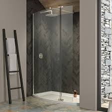 kudos ultimate 2 8mm curved recess walk in shower enclosure 1500 x