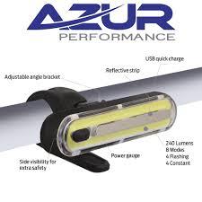 Azur 2200 Bike Light Review Azur Alien 2 Usb Bicycle Bike Head Light