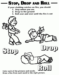 Small Picture Emergency Coloring Pages Preschool Coloring Panda Fire Safety