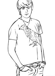 Small Picture zack cody coloring page click to see printable version of zac