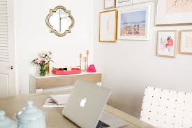 office decor for work. Chic And Functional Office Décor By LaurenConrad.com Decor For Work E