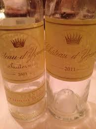 Wine Tracker Chateau Dyquem Average Price 436 Ex Tax Per Bottle Wine