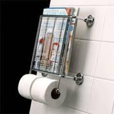 Chrome Toilet Paper Holder Magazine Rack InterDesign Classico Wallmount Magazine and Tissue Holder Chrome 28