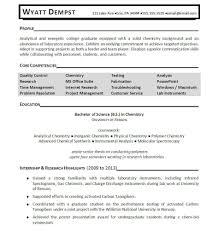 Download Chemist Sample Resume   Haadyaooverbayresort regarding Coursework  On Resume Template 110