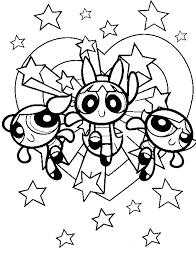 Gratis Powerpuff Girls Kleurplaten Voor Kinderen 5