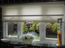 Roller Blinds For Kitchens Interior White Roller Blinds For Kitchen Windowa With Beautiful