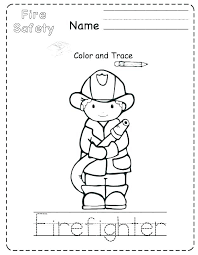 Fire Safety First Grade Worksheets Fire Safety Worksheets For Kids 1 ...