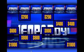 Jeopardy Game Template √ powerpoint templates ☆ - Simple Powerpoint Themes