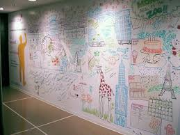office whiteboard ideas. eco friendly whiteboard paint turns any wall into an artistic canvas office ideas