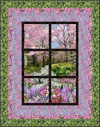 326 best Quilts - Panel images on Pinterest | Quilt patterns, Kid ... & Botanic Garden – Outside My Window Project created on July 2014 Dimensions:  x Quilt by Kathryn Wilson Tucker, Next Step Quilt Designs Adamdwight.com