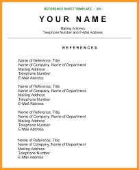 Reference Page For Resume Template Stunning Resume Reference Page Template Resume Templates Ideas Resume