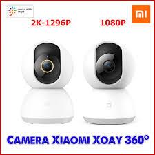 Camera IP Xiaomi Mijia 360 độ 2K - Camera giám sát Xiaomi Mijia PTZ 360  1080P tốt giá rẻ