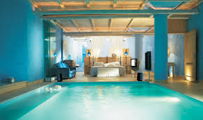 Pretty Bedrooms Pretty Cool Blue Bedrooms With Indoor Pools And Romantic Lighting