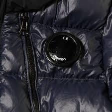 c p company undersixteen boys blue portal hooded jacket