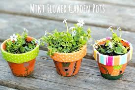 diy garden pots diy mosaic garden pots