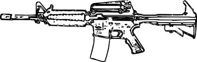 Kleurplaat Soldaat Met Geweer Malvorlage Revolver Ausmalbild 29804