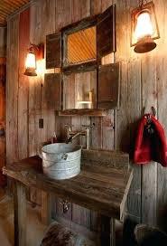 rustic bathroom ideas pinterest. Interesting Ideas Cabin Bathroom Ideas 5 Ultra Rustic Bathrooms Pinterest   On Rustic Bathroom Ideas Pinterest F