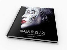 makeup is art great book for inspiration for color and texture freelance makeup artist