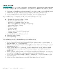 Security Report Writing Template