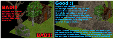 objects_edgesofmap jpg 3d Tile Map Editor placing objects underground should only be done when it really has a good impact on the map otherwise you are wasting resources these 3d objects are made unity 3d tile map editor
