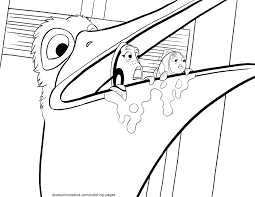 Bruce From Finding Nemo Coloring Pages At Getdrawingscom Free For