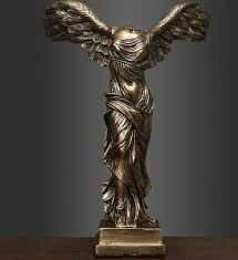 home décor winged nike victory of