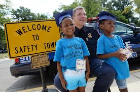 Images from Safety Town graduation