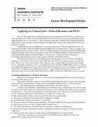 Federal Resume Sample New Ksa Resume Samples Ses Resume Sample