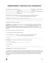 Simple Service Contract 005 Template Ideas Independentor Agreement Simple Service