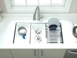 sink grid grids home decor kitchen double designing inspiration basin kohler sinks undermount granite grate stainless