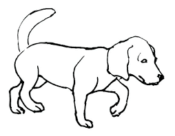 Coloring Baby Puppy Coloring Pages Dogs Color Page Cute Dog Puppies
