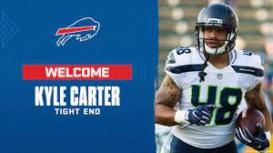 Bills sign tight end Kyle Carter
