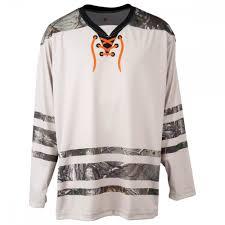 Monkeysports Realtree Light Sublimated Junior Hockey Jersey