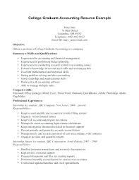 Resumes Examples For College Students Best It Resumes Examples