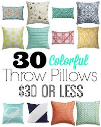 best place to buy throw pillows. Unique Pillows 30 Colorful Throw Pillows For Dollars Or Less Intended Best Place To Buy Throw Pillows
